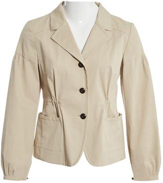 Miu Miu \N Beige Cotton Jackets