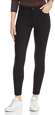 DL1961 Farrow High Rise Skinny Jeans in Hail