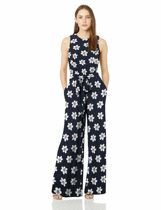 Tommy Hilfiger Women's Printed Jersey Jump Suit