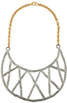 Pamela Love Rope Crescent Collar Necklace