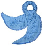 Tory Burch Traveler Oversized Square Scarf