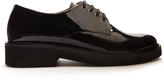 A.P.C. Autumn patent-leather derby shoes