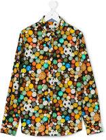 Paul Smith ball print shirt - kids - Cotton - 14 yrs