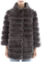 S.W.O.R.D. Grey Fur Jacket