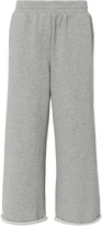 Alexander Wang Cropped Wide Leg Sweatpants