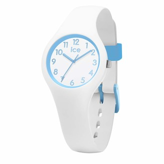 Ice Watch Ice-Watch - ICE ola kids Cotton white - Boy's wristwatch with silicon strap - 015348 (Extra small)