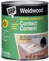 D.A.P. 25332 Weldwood Nonflammable Contact Cement 1-Quart