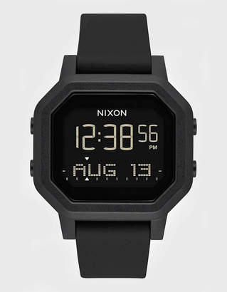 Nixon Siren All Black Watch