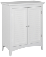 Elegant Home Fashions Slone Floor Cabinet with Two Shutter Doors
