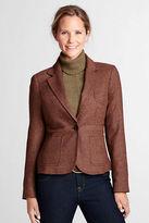 Lands' End Women's Regular 1-button Hunt Jacket