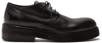 Marsèll Rounded-toe Exaggerated-sole Derby Shoes - Black