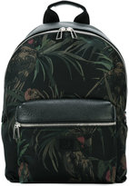 Paul Smith floral detail backpack - men - Calf Leather/Leather/Acrylic/Polyamide - One Size