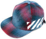 Off-White diagonal cap