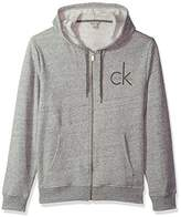 Calvin Klein Jeans Men's Full Zip CK Logo Hoodie