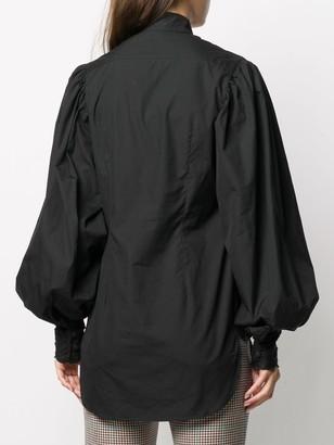 Charles Jeffrey Loverboy Broderie Long-Sleeve Blouse