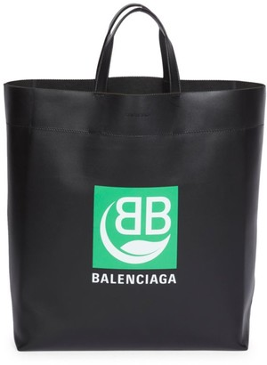 Balenciaga Medium Market BB Leather Tote