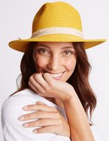 Marks and Spencer Bow Fedora Hat
