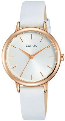 Lorus Rg246Nx-8 Rose & White Dress Watch