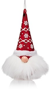 Bloomingdale's Glass Santa Head Ornament - 100% Exclusive
