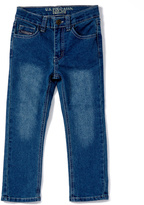 U.S. Polo Assn. Medium Indigo Five-Pocket Flex Jeans - Boys