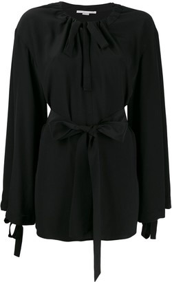 Stella McCartney Tie Waist Loose-Fit Blouse