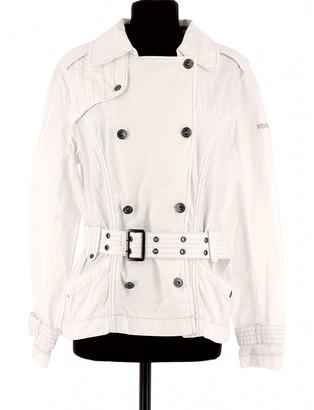 Schott White Cotton Jackets