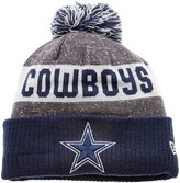 New Era NFL Sideline Bobble Beanie One Size Dallas Cowboys