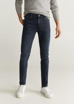 MANGO MAN - Skinny dark wash Jude jeans deep dark blue - 26 - Men