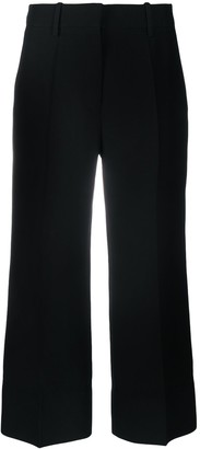 Valentino Cropped Straight-Leg Trousers