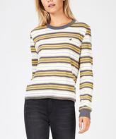 Wrangler Desert Stripe Long Sleeve T-shirt Mustard