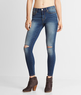 Seriously Stretchy Medium Wash Mid-Rise Ankle Jegging