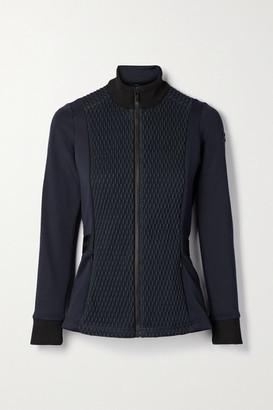 Fusalp Meryl Quilted Paneled Stretch-jersey Ski Jacket - Midnight blue