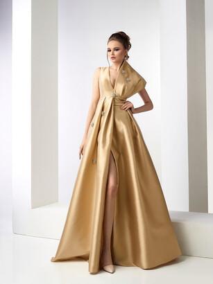 Gatti Nolli by Marwan Donalda Sleeveless Mikado Gown