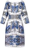 Prabal Gurung Storm Blue Sheath Dress