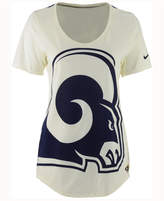 Nike Women's Los Angeles Rams Nameplate Boyfriend T-Shirt