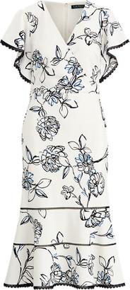 Ralph Lauren Floral Jacquard Dress