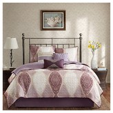 Nobrand No Brand Corrine 6 Piece Quilted Coverlet Set