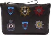 Alexander McQueen Black Nylon Badges Document Holder