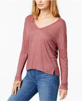 Project Social T Raine Textured High-Low T-Shirt