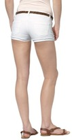 Mossimo Juniors Belted Denim Short - White