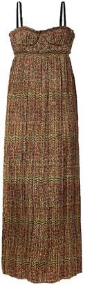 KHAITE Jordyn Pleated Floral-print Twill Midi Dress