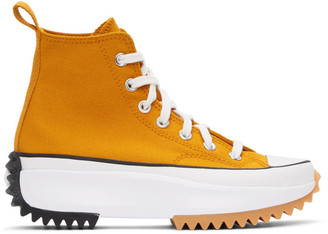 Converse Orange Run Star Hike High-Top Sneakers