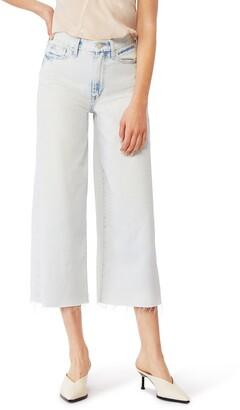 Habitual Jetti High Rise Wide Leg Crop Jeans