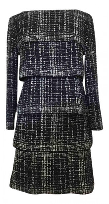 Chanel Blue Tweed Dresses