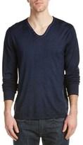 Zadig & Voltaire Monastir Wool Split-neck Sweater.