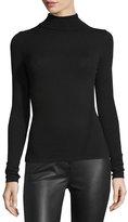 Diane von Furstenberg Jelena Turtleneck Sweater, Black