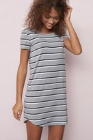 Garage Striped T-Shirt Dress