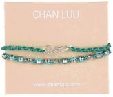Chan Luu 2 Pack Friendship Bracelet (Turquoise Mix) - Jewelry