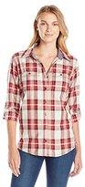 Carhartt Women's Dodson Button Front Plaid Shirt