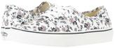 Vans Authentic True White) Skate Shoes